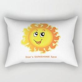 Dar's SUNSHINE Spa Rectangular Pillow