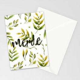 Merde Stationery Cards