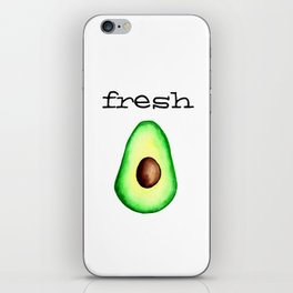 Fresh Avocado fr e sh a voca do iPhone Skin
