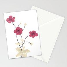 Armenian Cranesbill Flower Stationery Cards