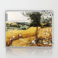 The Harvesters by Pieter Bruegel the Elder, 1565 Laptop & iPad Skin