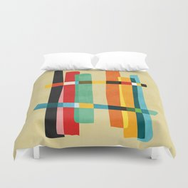 Broken Fences Duvet Cover