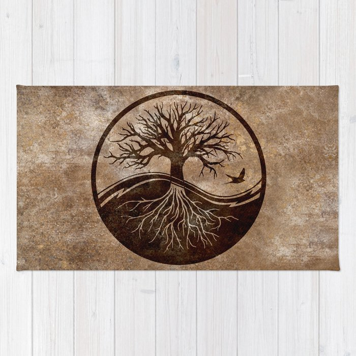 Tree Of Life Rug By Ruthl Society6