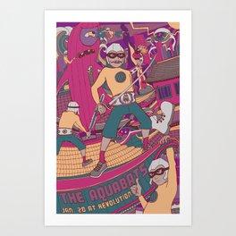 Aquabats Art Print