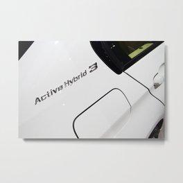 BMW ActiveHybrid 3 M Sport Metal Print