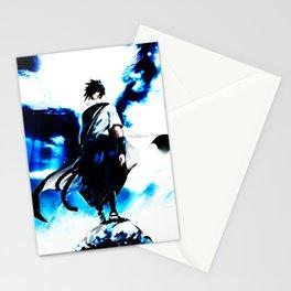 uciha sasuke Stationery Cards