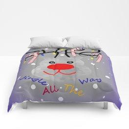 Jingle All The Way Comforters