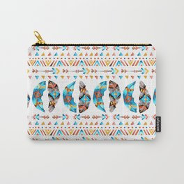 Arrows and Feathers Tribe Carry-All Pouch