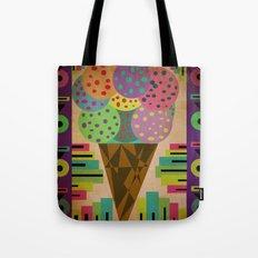 fancy ice cream Tote Bag