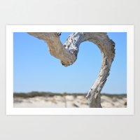 Beach Branch Art Print