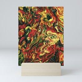 Rasta Mash Up Mini Art Print