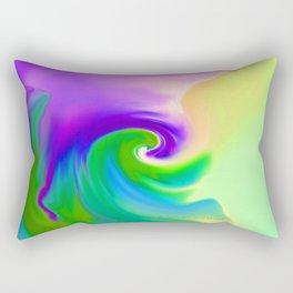 """""""Summer Garden #14"""" Print Rectangular Pillow"""