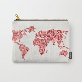 Love, You Are My World Carry-All Pouch