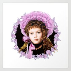 Vampire Child Claudia Art Print