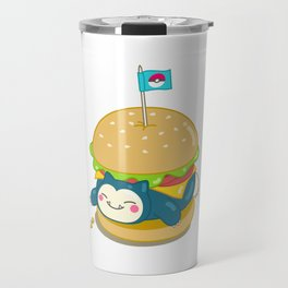 Snorlax Burger Travel Mug