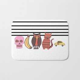 The Unusual Suspects Bath Mat