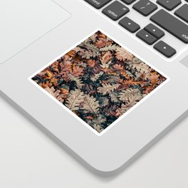 Autumn Leafs Pattern (Color) Sticker
