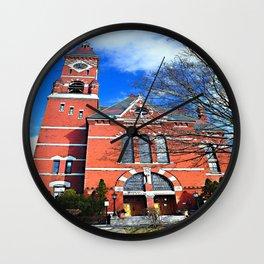 Abbot Hall, Marblehead, MA Wall Clock