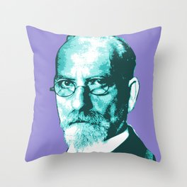 Edmund Husserl Throw Pillow