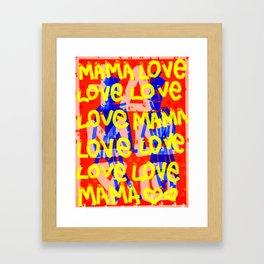 MamaLove Framed Art Print