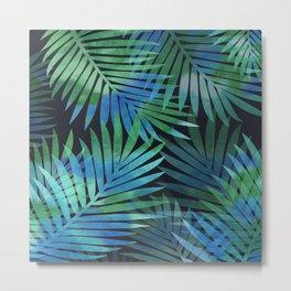Tropical Memories in Relaxing Palms Metal Print