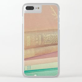 Book Lover Clear iPhone Case