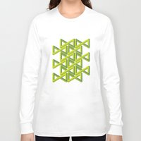 illusion Long Sleeve T-shirts featuring Illusion by Isometric