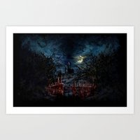 castlevania Art Prints featuring Castlevania: Vampire Variations- Gates by LightningArts