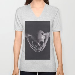 Death in His Hands Unisex V-Neck