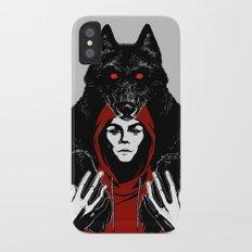 red ridin' hood iPhone X Slim Case
