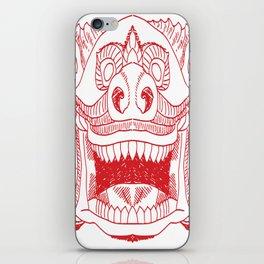 DRAGON Pop Art iPhone Skin