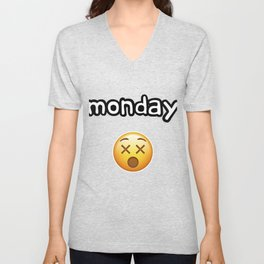 Monday Mood Unisex V-Neck