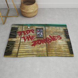 Stop the Zombies!!! Rug