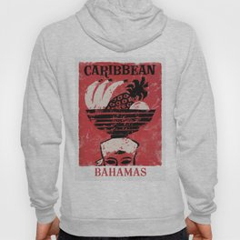 The Bahamas - Vintage Travel Poster Hoody