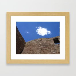 Chaco Canyon Summer Solstice Framed Art Print