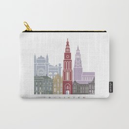 Groningen skyline poster Carry-All Pouch