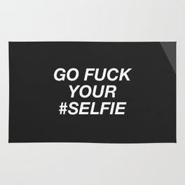 Go Fuck Your #Selfie Rug