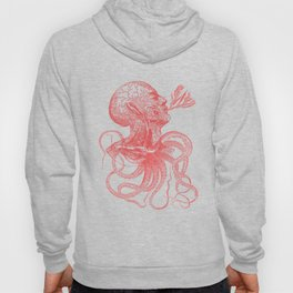 Octopussy Man under the Sea Abstract Concept Art Hoody