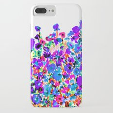 Flower Fields Blue iPhone 7 Plus Slim Case