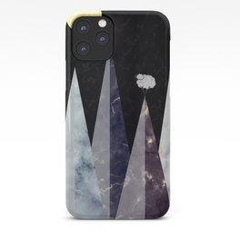 Marbled Mountains iPhone Case