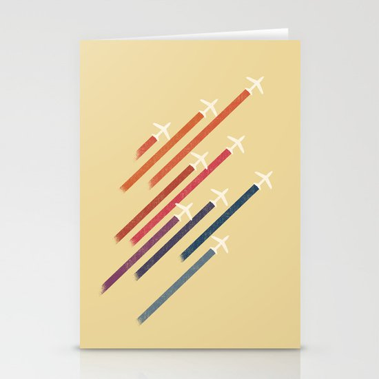 Aerial display (ver.2) Stationery Cards