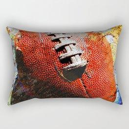 Football ball vs 6 Rectangular Pillow