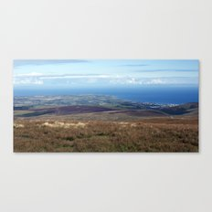 The Point of Ayre and Ramsey Canvas Print