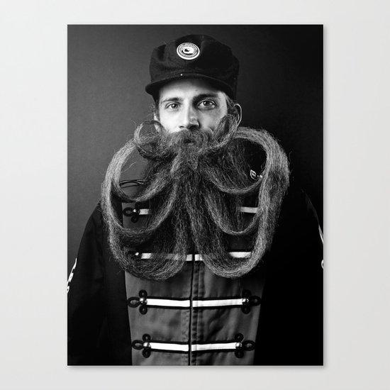 A Book of Beards Canvas Print