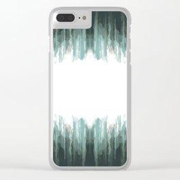 Splashes of Rain Clear iPhone Case