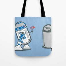 Robot Crush Tote Bag