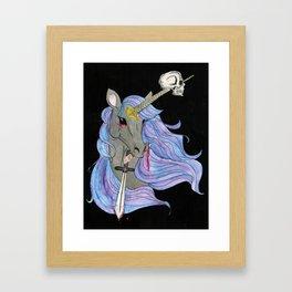 Evil Unicron Framed Art Print