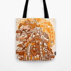 Ginger Monsterous Tote Bag