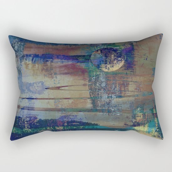 Night landscape Rectangular Pillow