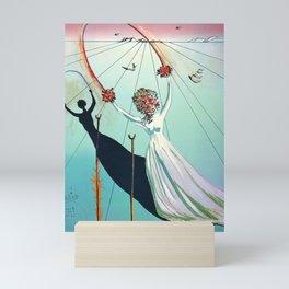 Salvador Dali 5 - Alice  Mini Art Print